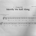 merrily We Roll Along photo album